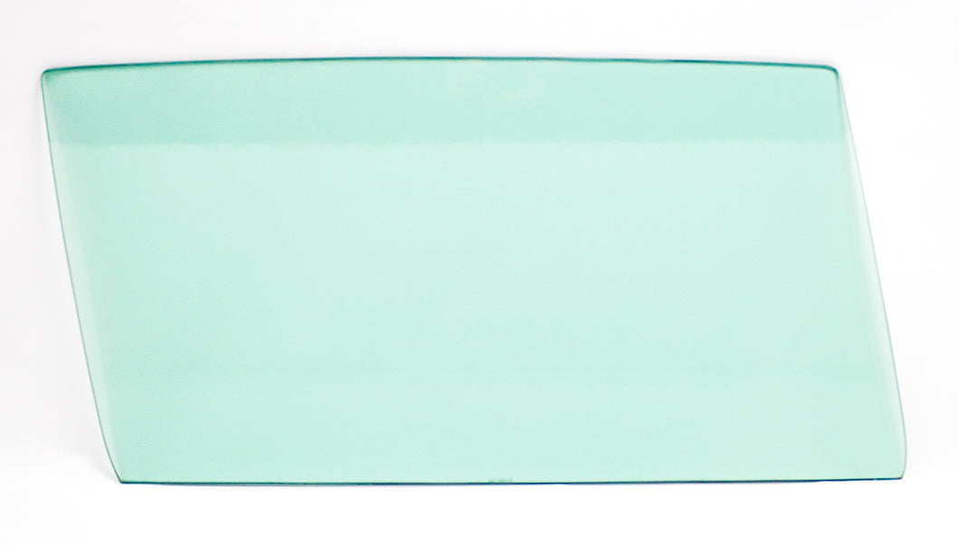 Door Glass - Green Tint - RH - 66-67 Skylark Cutlass GTO 2DR Sedan (Post)