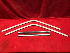 1966-7 Chevy II Nova Post Quarter Window Trim - Sundellauto Specialties Chevelle, El Camino, Malibu, Impala, Caprice, Biscayne, Bel Air, Camaro, Nova, Chevy II, GTO, LeMans, Tempest, Bonneville, Grand Prix, Catalina, Ventura, Skylark, Special, GS, Riviera, Gran Sport, Wildcat, Cutlass, Cutlass Supreme, 442, F-85, and Vista Cruiser quarter window trim Original