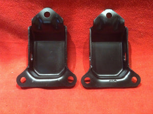 64-9 Cutlass Engine Frame Mounts 330 350 - Sundellauto Specialties Chevelle, El Camino, Malibu, Impala, Caprice, Biscayne, Bel Air, Camaro, Nova, Chevy II, GTO, LeMans, Tempest, Bonneville, Grand Prix, Catalina, Ventura, Skylark, Special, GS, Riviera, Gran Sport, Wildcat, Cutlass, Cutlass Supreme, 442, F-85, and Vista Cruiser Engine Mounts Original