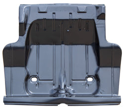 Trunk Floor - Full OE Style w/ Braces - 68-72 Chevy II Nova (71-72 Requires Modification)