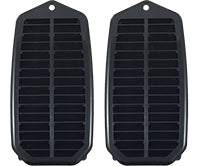 Door Jamb Vent Louvers with Seals -  LH/RH Pair - 70-72 Chevelle (Coupe & Convertible )