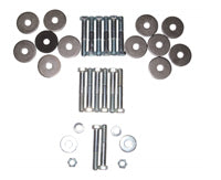 Body Mount Hardware Set - 64-67 Chevelle Cutlass (Convertible); GTO Skylark (Coupe & Convertible)