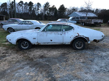 Load image into Gallery viewer, 1969 Oldsmobile Cutlass 442 - Sundellauto Specialties Chevelle, El Camino, Malibu, Impala, Caprice, Biscayne, Bel Air, Camaro, Nova, Chevy II, GTO, LeMans, Tempest, Bonneville, Grand Prix, Catalina, Ventura, Skylark, Special, GS, Riviera, Gran Sport, Wildcat, Cutlass, Cutlass Supreme, 442, F-85, and Vista Cruiser Project Car Original