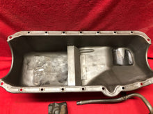 Load image into Gallery viewer, 1962-7 Chevy II/Nova Oil Pan, pump, dipstick kit V8 - Sundellauto Specialties Chevelle, El Camino, Malibu, Impala, Caprice, Biscayne, Bel Air, Camaro, Nova, Chevy II, GTO, LeMans, Tempest, Bonneville, Grand Prix, Catalina, Ventura, Skylark, Special, GS, Riviera, Gran Sport, Wildcat, Cutlass, Cutlass Supreme, 442, F-85, and Vista Cruiser Oil Pan Original