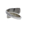 Silver By-Pass Ring
