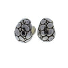 Kali Silver Buddha Belly Earrings