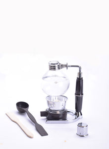 Coffee Siphon for 5-Cups fresh brewed Coffee in Glass Syphon Tabletop