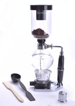 Load image into Gallery viewer, Coffee Siphon for 5-Cups fresh brewed Coffee in Glass Syphon Tabletop