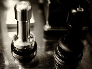 Tamper Handle Technic Silver for customized Espresso Tamper