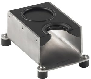 Tamping Station Exclusive Black, Solid Tamper Stand