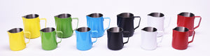 Steaming & Frothing Milk Pitcher Stainless BLACK