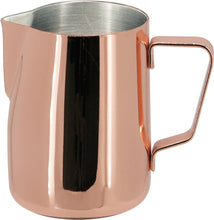 Load image into Gallery viewer, Steaming & Frothing Milk Pitcher Stainless Steel - COPPER COLOR 12oz/350ml