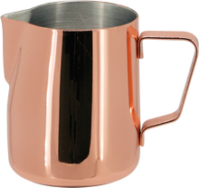 Load image into Gallery viewer, Steaming & Frothing Milk Pitcher Stainless Steel - COPPER COLOR 20oz/590ml