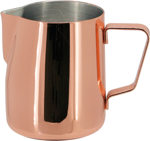 Steaming & Frothing Milk Pitcher Stainless Steel - COPPER COLOR 12oz/350ml