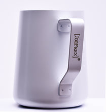 Load image into Gallery viewer, Steaming & Frothing Milk Pitcher Stainless WHITE
