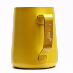 Steaming & Frothing Milk Pitcher Stainless YELLOW