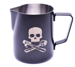 "Frothing & Foaming Milk Pitcher ""Pirate Style"" 