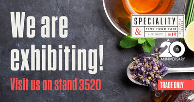 Crispifarms stand #3520 at the amazing Specialty Fine Food Fair Exhibition at Olympia London
