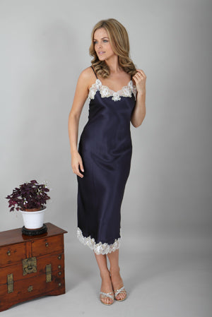 Long Silk Nightdress C28