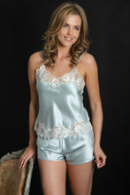 Silk Camisole and Shorts D28