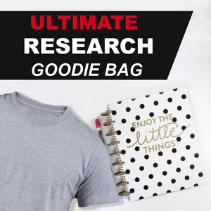 💥 ULTIMATE Research Goodie Bag 150