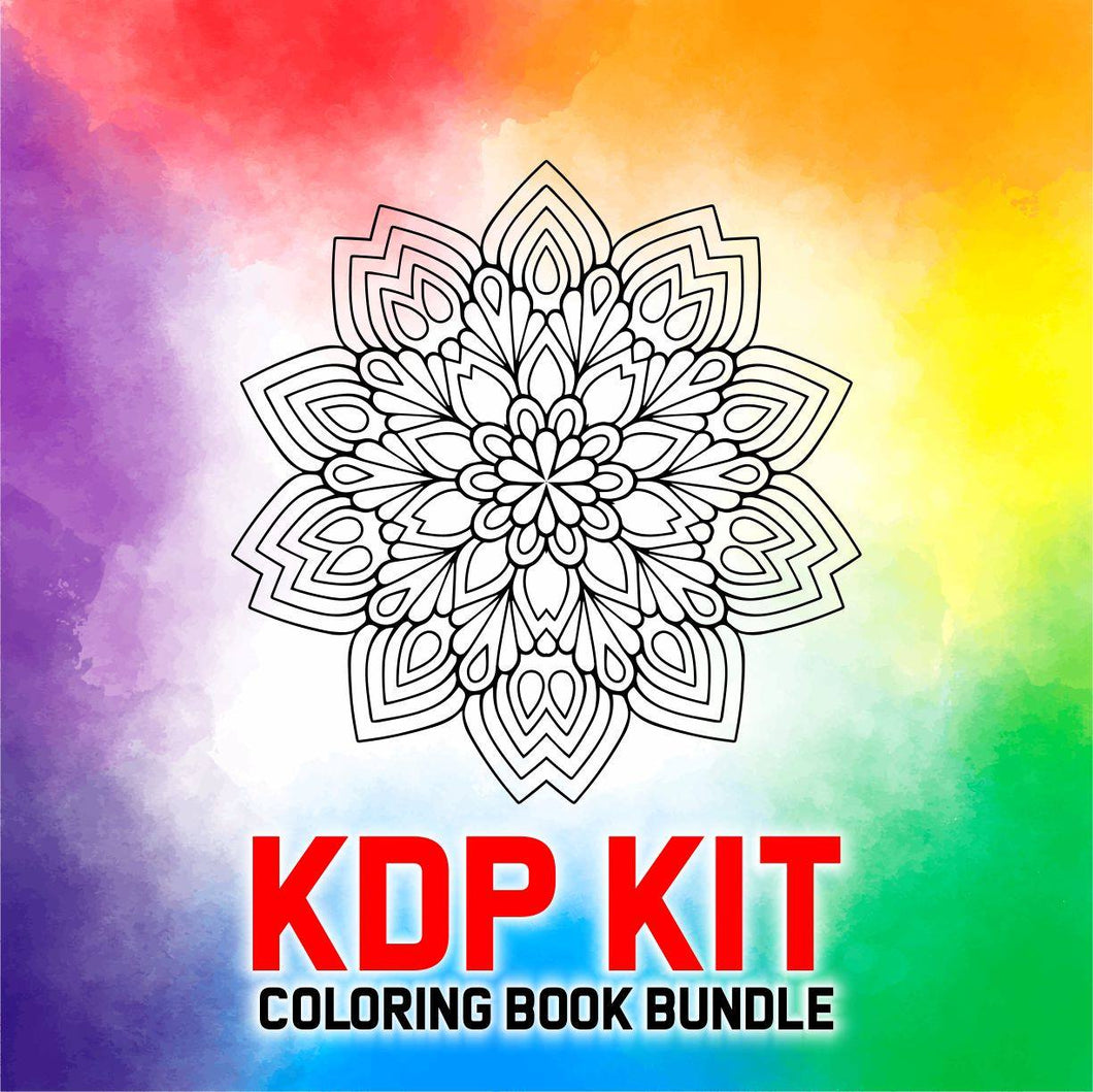 KDP Ready2Rock Kit Coloring Books Addon