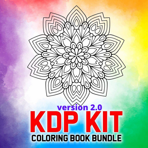 KDP Ready2Rock Coloring Books Kit 2.0