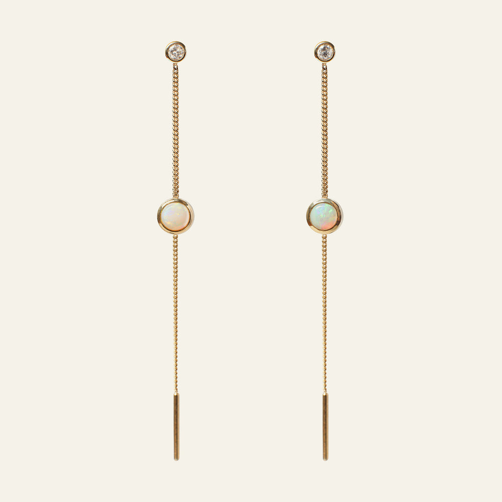 Opal Drip Earrings