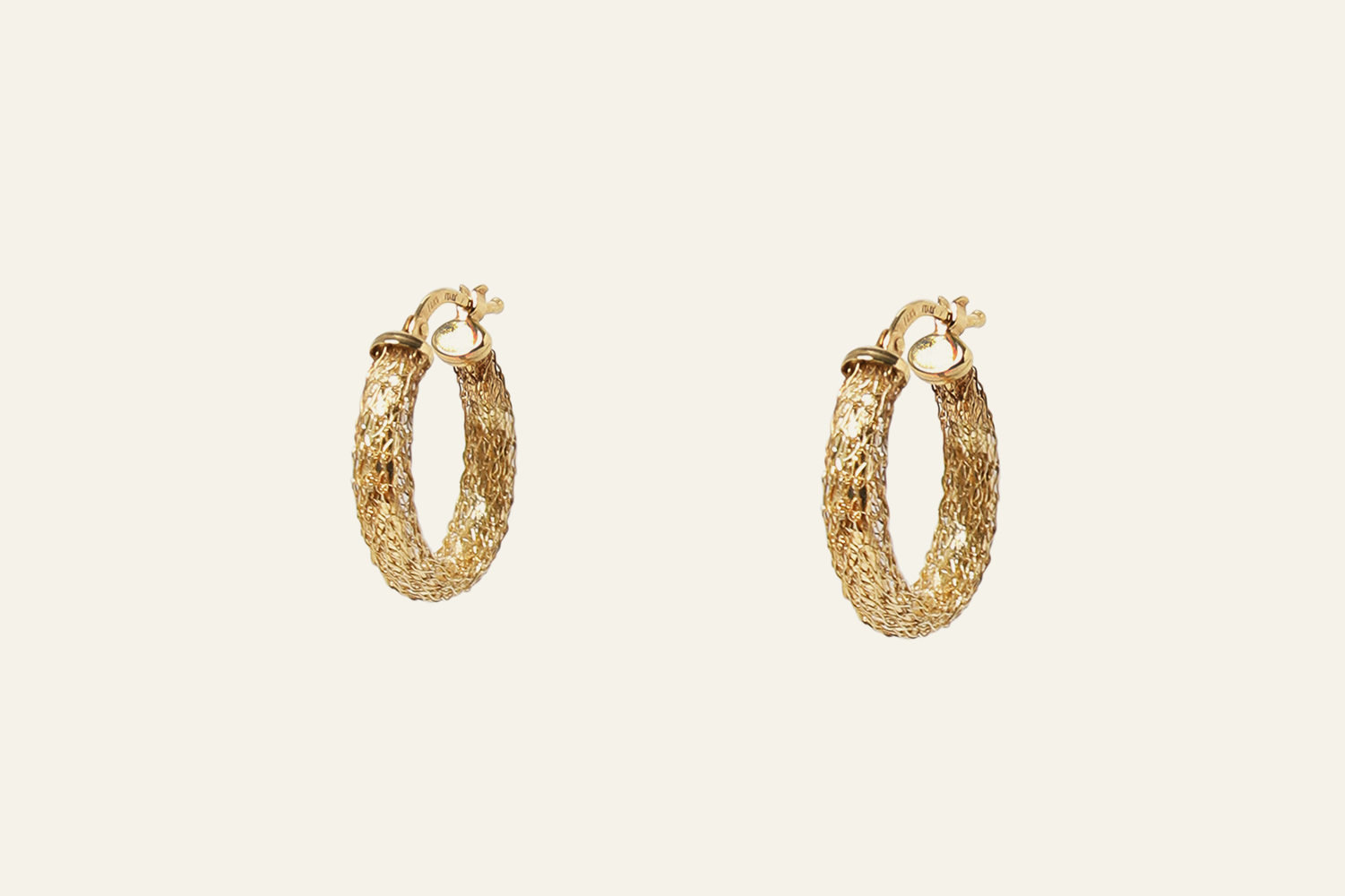 L' Opa Hoop Earrings