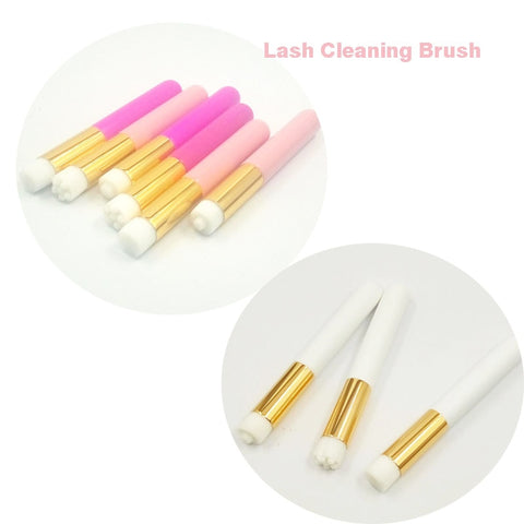 Professional eyelash cleaning brush Eyelash Extensions Tools Cleanser Washing Makeup Brush Eyelash Lash Extensions Applicators