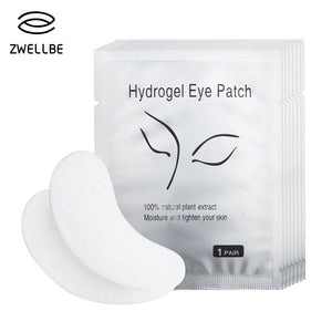 50pairs/pack New Paper Patches Eyelash Under Eye Pads Lash Eyelash Extension Paper Patches Eye Tips Sticker Wraps Makeup Tool