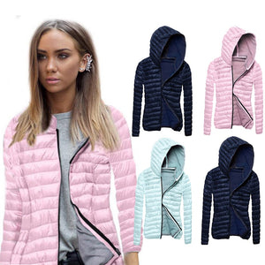 Kenancy Spring Plus Size 3XL Unisex Casual Hoodies Parkas 4 Solid Colors Women Zipper Long Sleeves Slim Thin Coats Female Jacket
