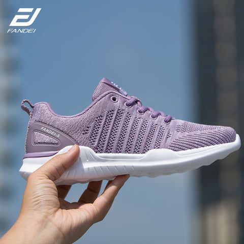 FANDEI Women Sneakers 2018 Running Shoes for Women Outdoor Sport Shoes Woman Breathable Mesh Lightweight Trainers For Female