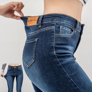 70f92ac8f2 luckinyoyo jean jeans for women with high waist pants for women plus up  large size skinny