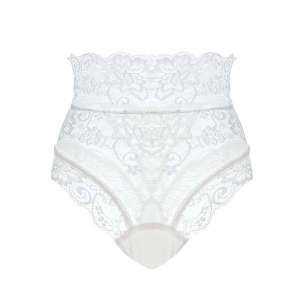 Amazing Sexy Panties Women High Waist Lace Thongs and G Strings Ladies Hollow Out Underpants Imitation Lingerie Briefs Leggings