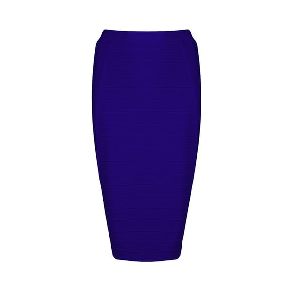 INDRESSME 2019 New Sexy Pencil Bodycon Skirt Striped Knee-Length Bandage Skirts Wear To Work Summer Wholesale