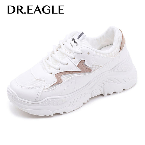 DR.EAGLE Women's sports shoes Mesh Breathable Sneaker women running shoes jogging walking sports woman sport sneakers