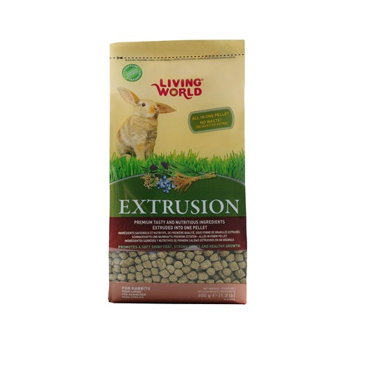 Living World Extrusion Diet for Rabbits