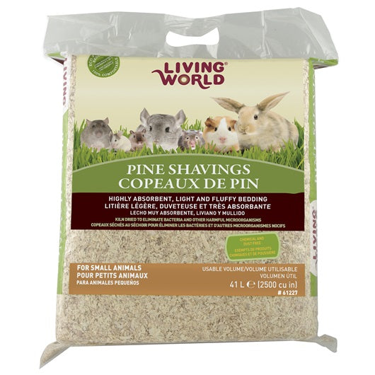 Living World Pine Shavings