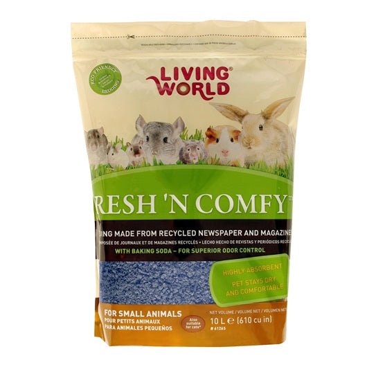 Living World Fresh 'N Comfy Bedding (Blue)