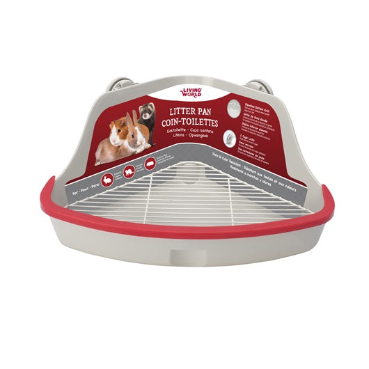 Living World Small Animal Corner Litter Pan