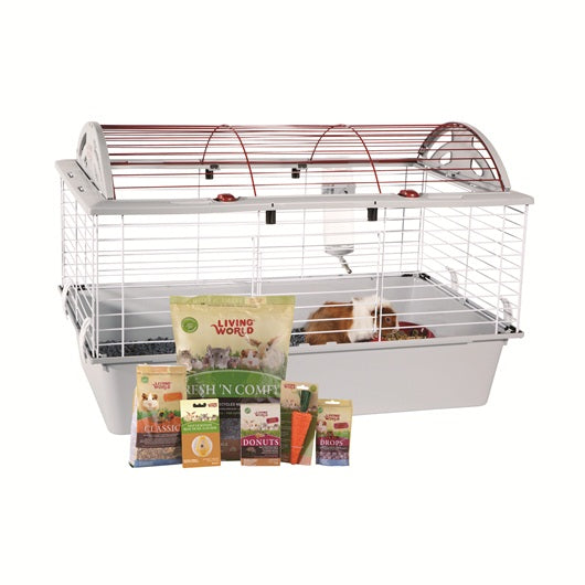 Living World Deluxe Guinea Pig Starter Kit