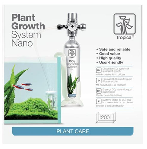 Plant Growth System Nano CO2 Set
