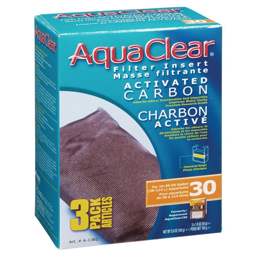 AquaClear 30 Activated Carbon 3 Pack