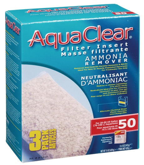 AquaClear 50 Ammonia Remover 3 Pack