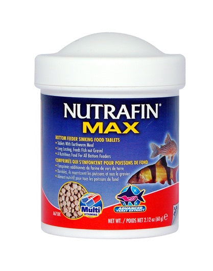 Nutrafin Max Bottom Feeder Sinking Food Tablets