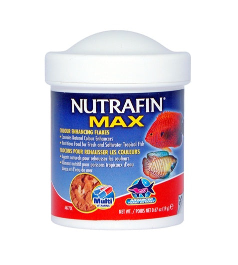 Nutrafin Max Colour Enhancing Flakes
