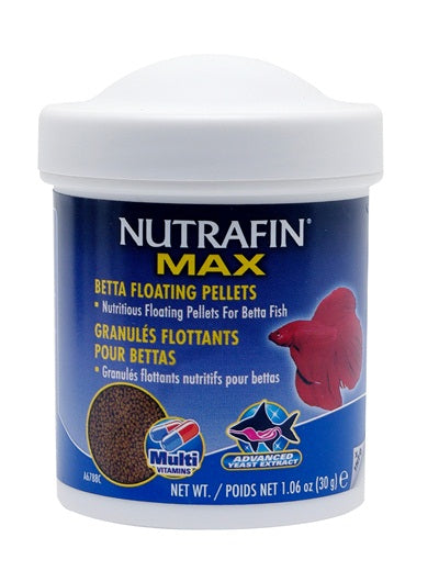 Nutrafin Max Betta Floating Pellets 30g/1.06oz
