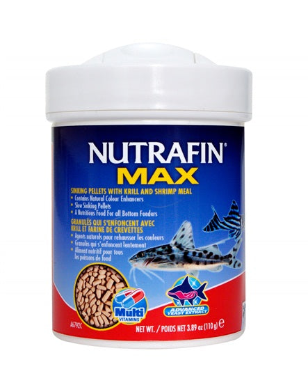 Nutrafin Max Sinking Pellets with Krill and Shrimp Meal