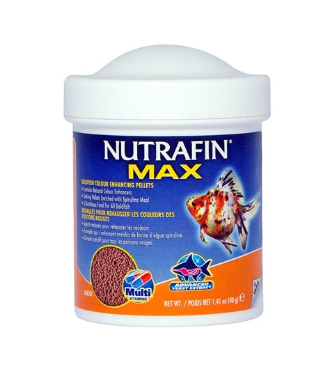 Nutrafin Max Goldfish Colour Enhancing Pellets